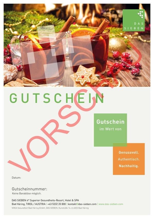 """Gutscheinmotiv """"Advent"""""""