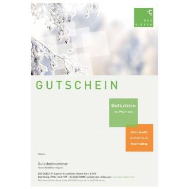 """Gutscheinmotiv """"Winter"""""""
